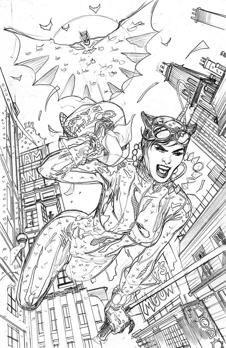 batman rebirth 1 variant cover pencilsterrydodson on