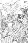 Batman Rebirth #1 Variant Cover Pencils