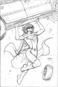 Superwoman #1 Pencil