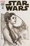 NYCC Princess Leia Sketch