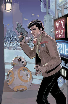 Star Wars: Poe Dameron 7 Cover