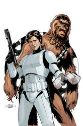 Star Wars #24 Cover by TerryDodson