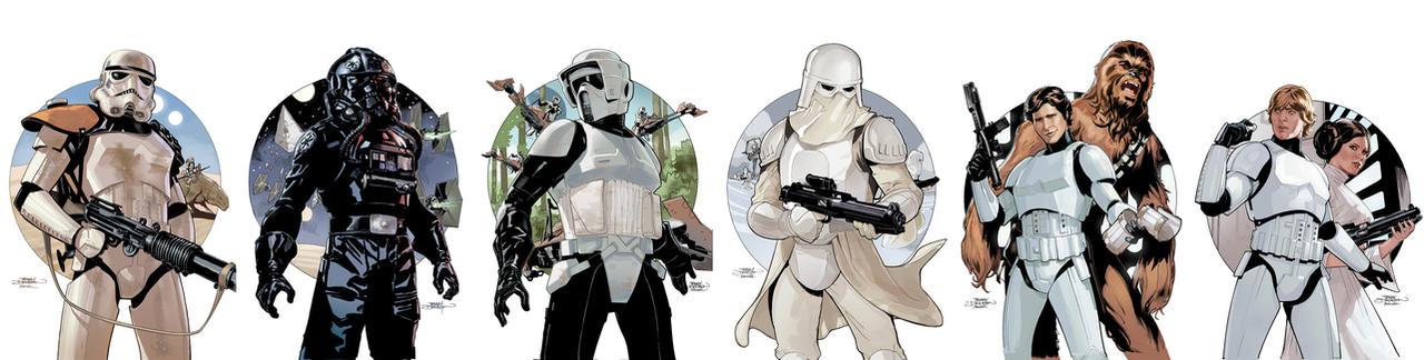 Star Wars Stormtrooper covers