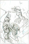 Spider-Gwen #14 Cover Pencils