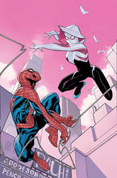 Spider-Gwen #14 Cover by TerryDodson