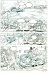 Red One Book 2 Undercover Page 6 Pencils