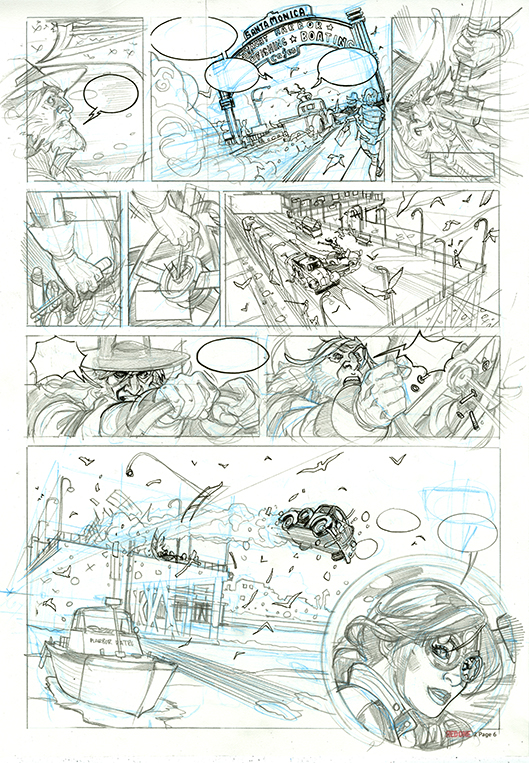 Red One Book 2 Page 7 Pencils