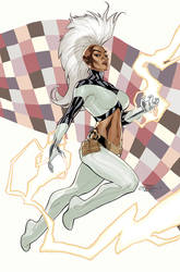 Inhumans Vs X-Men #6 Storm by TerryDodson
