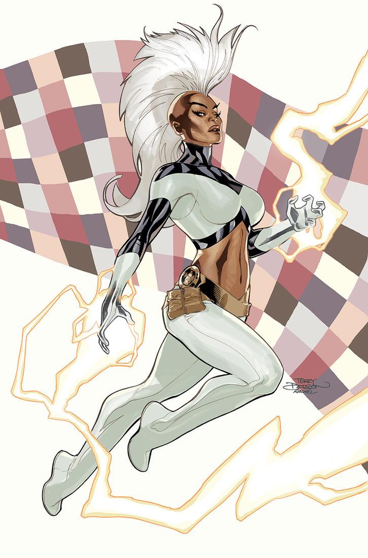 Inhumans Vs X-Men #6 Storm by TerryDodson
