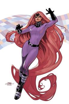 Inhumans Vs X-Men #5 Medusa by TerryDodson