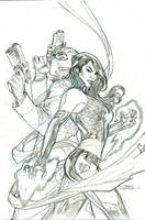 Astonishing X-Men #1 Cover Pencils by TerryDodson
