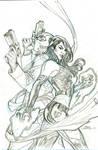 Astonishing X-Men #1 Cover Pencils