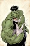 Hulk 80's Variant Cover