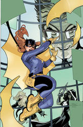 Batgirl and The Birds of Prey 19 Cover