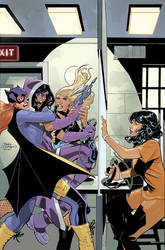 Batgirl and The Birds of Prey 20 Cover by TerryDodson