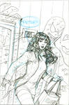 Amazing Spider-Man 798 Venom Cover Pencils