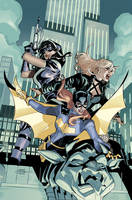 Batgirl and the Birds of Prey 22 Cover by TerryDodson