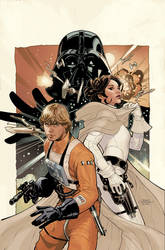 Star Wars 50 Cover by TerryDodson