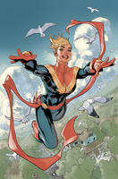 Life of Captain Marvel 2 Variant Cover Final by TerryDodson