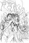 Mr. and Mrs. X #4 Cover Pencils