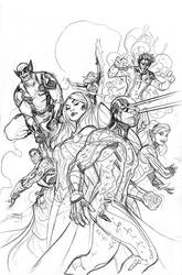Uncanny X-Men Pencils