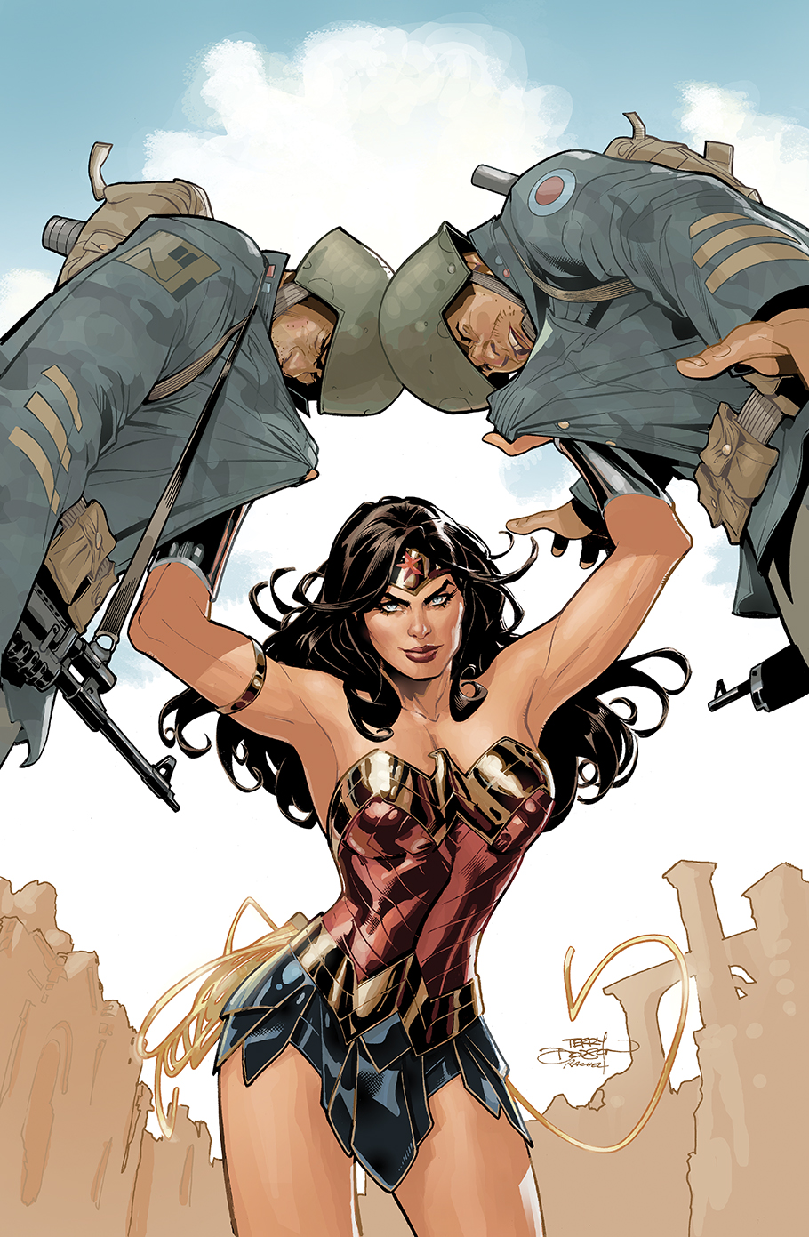 Wonder Woman 58 Cover by TerryDodson