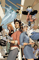 Mr. and Mrs. X #6 Cover by TerryDodson