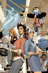 Mr. and Mrs. X #6 Cover
