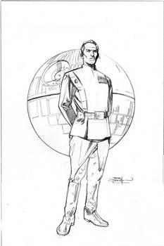 Star Wars Age of Rebellion - Tarkin Cover Pencils