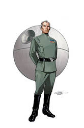 Star Wars Age of Rebellion - Tarkin Cover by TerryDodson