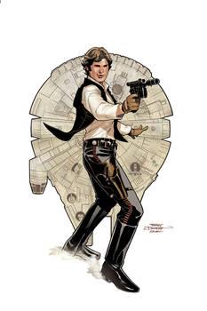 Star Wars: Age of Rebellion - Solo Cover