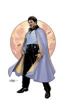 Star Wars Age of Rebellion - Lando Cover by TerryDodson