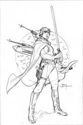 Star Wars Age of Rebellion - Luke Cover Pencils