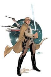 Star Wars Age of Rebellion - Luke Cover by TerryDodson