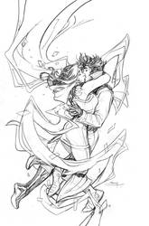 Mr and Mrs X #12 Cover Pencils