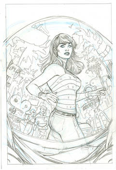 Amazing Mary Jane 2 Variant Cover Pencils