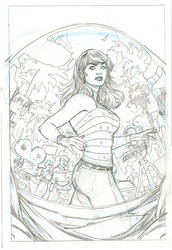 Amazing Mary Jane 2 Variant Cover Pencils by TerryDodson