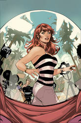 Amazing Mary Jane 2 Variant Cover by TerryDodson