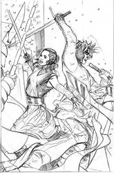 Star Wars Greatest Moments Cover Pencils by TerryDodson