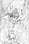 Batgirl 42 Variant Cover Pencils