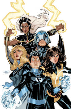 X-Men Fantastic Four 1 Cover