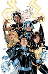 X-Men Fantastic Four 1 Cover by TerryDodson