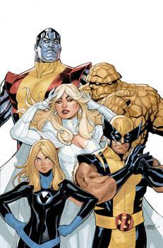 X-Men Fantastic Four 2 Cover