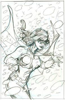 Batgirl 45 Cover Pencils