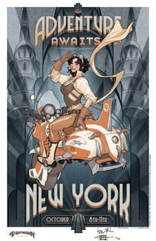 NYCC Adventure Awaits Limited Edition Print