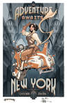 NYCC Adventure Awaits Limited Edition Print by TerryDodson