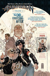 ADVENTUREMAN Vol 1:The End and Everything After by TerryDodson