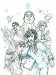 ADVENTUREMAN Vol 1:The EndEverything After Pencils
