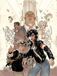 ADVENTUREMAN Vol 1:The EndEverything After Cover by TerryDodson