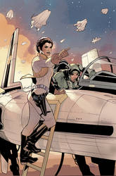Star Wars 10 Cover Art by TerryDodson